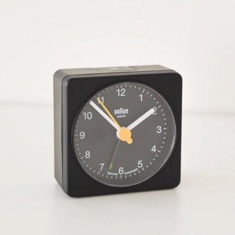 BRAUN/ブラウン/目覚まし時計(ブラック)の商品写真