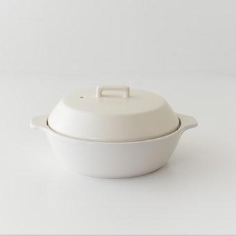 KINTO/KAKOMI/カコミ/IH対応土鍋 1〜2人用(ホワイト)の商品写真