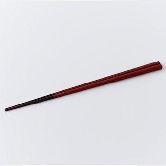 伝統の色箸/お箸/古代朱(こだいしゅ)の商品写真