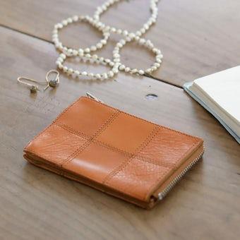 【次回12月上旬入荷予定】yes/イエス/スクエア/カードケース(キャメル)の商品写真