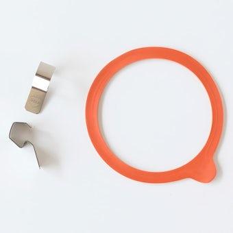 WECK/ウェック/クリップ&パッキンセット(M)の商品写真