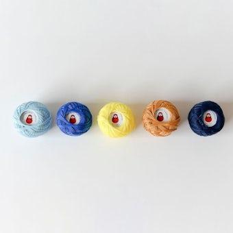 ダルマスレッド/家庭糸5色セット/ホームスレッドボール 30番(Kasumigaura)の商品写真