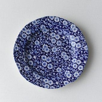BURLEIGH/CALICO/キャリコ/プレート 19cm(ブルー)の商品写真