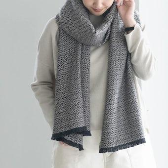 【今季終了】LAPUAN KANKURIT / ラプアン・カンクリ / メリノウールストール / KOLI(織り模様)の商品写真