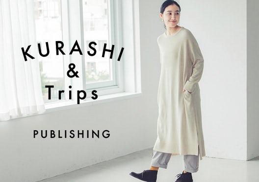 KURASHI&Trips PUBLISHING / ニットワンピースの画像