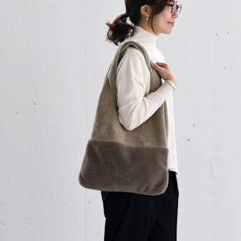 【今季終了】KELEN / ふんわりボアのトートバッグの商品写真