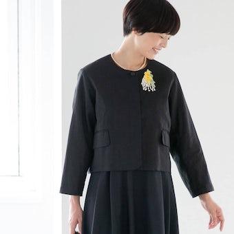 フォーマルワンピースに合うジャケット / atelier naruse × KURASHI&Trips PUBLISHINGの商品写真