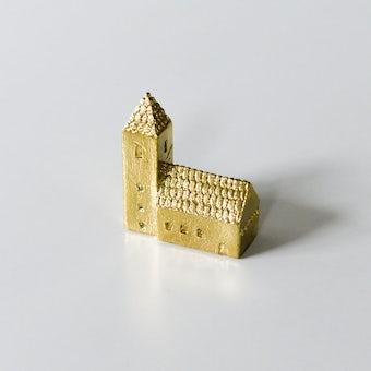 穀雨 / 真鍮のオブジェ / 塔のある家の商品写真