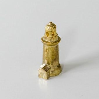 穀雨 / 真鍮のオブジェ / 夜の灯台の商品写真