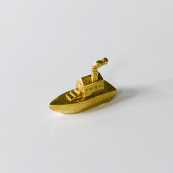 穀雨 / 真鍮のオブジェ / 旅往く船の商品写真