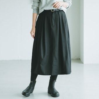 KELEN / コクーンスカート(ペチコート付)/ ブラックの商品写真