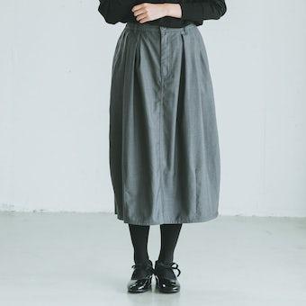 【今季終了】KELEN / コクーンスカート(ペチコート付)/ グレーの商品写真
