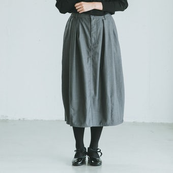KELEN / コクーンスカート(ペチコート付)/ グレーの商品写真