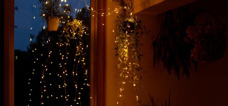 星粒のようなLEDデコレーションライト