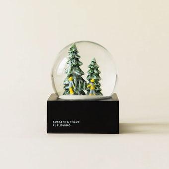 【今季終了】【数量限定】スノードーム 2019 「ツリーがわが家にやってくる」の商品写真