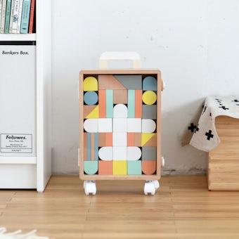 つみきスーツケース / おもちゃ / douの商品写真