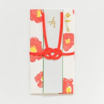 イイダ傘店 / ご祝儀袋(椿)の商品写真