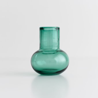 TOUMEI / フラワーベース / Chimney(ブルーグリーン)の商品写真