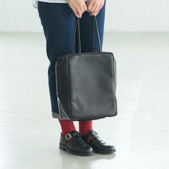 【次回4月下旬入荷予定】MORMYRUS / モルミルス / レザートートバッグの商品写真