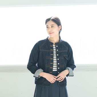 si-si-si comfort / スースースー コンフォート / デニムジャケット(38サイズ)の商品写真