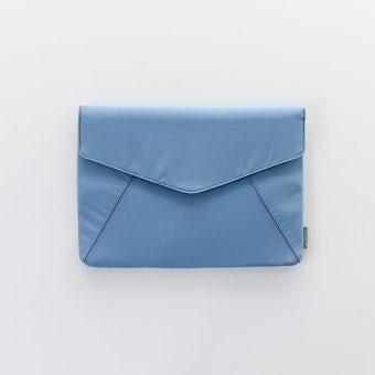 【次回2021年2月入荷予定】レター型のスリムなPCケース / ブルーの商品写真