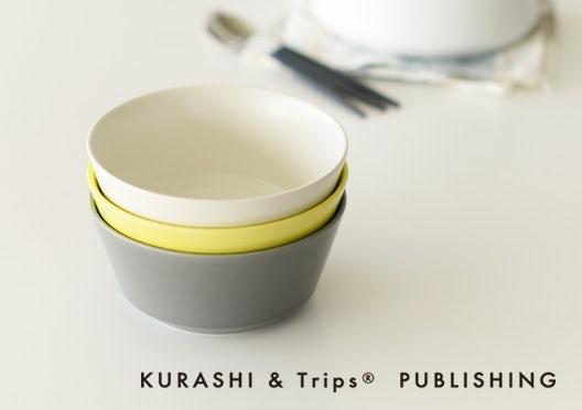 KURASHI&Trips PUBLISHING/オリジナル 食器シリーズの画像