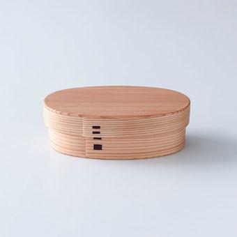 曲げわっぱ弁当箱 / 小(480ml)の商品写真