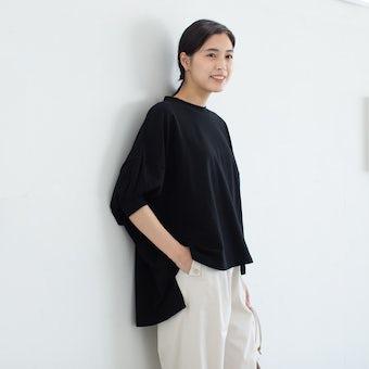 【今季終了】utilite/ユティリテ/ドルマンプルオーバー(ブラック)の商品写真