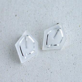 nezu / 氷の石のアクセサリー(イヤリング)の商品写真