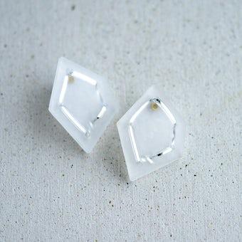 nezu / 氷の石のアクセサリー(ピアス)の商品写真