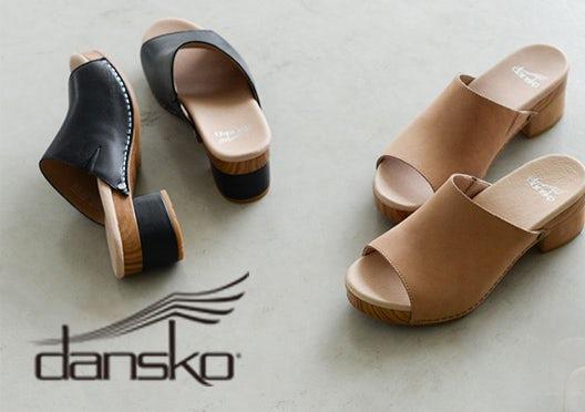 DANSKO / ダンスコ / レザーサンダルの画像