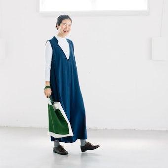 【取り扱い終了】KELEN / イージーサロペット / ブルー(レギュラーサイズ)の商品写真