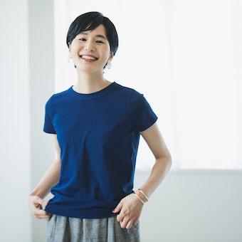 【今季終了】Permanent Age / パーマネントエイジ / コットン天竺Tシャツ(ネイビー)の商品写真