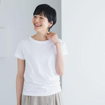 【次回8月入荷予定】Permanent Age / パーマネントエイジ / コットン天竺Tシャツ(ホワイト)の商品写真