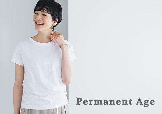 Permanent Age / コットン天竺Tシャツの画像