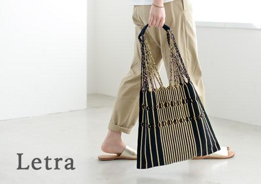Letra / レトラ / ハンモックバッグの画像