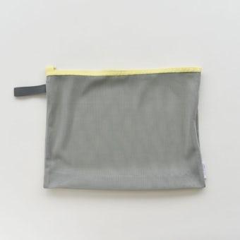 「持って帰ってまるごと洗濯」ランドリーネットにもなる衣類ケース / Mサイズ(イエロー)の商品写真