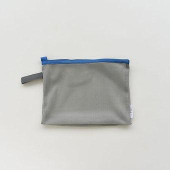 「持って帰ってまるごと洗濯」ランドリーネットにもなる衣類ケース / Sサイズ(ブルー)の商品写真