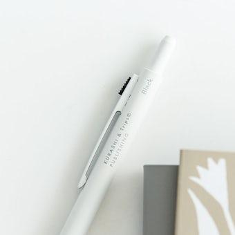 「わたし時間のおともに」スリムな3色ボールペン / マットホワイトの商品写真