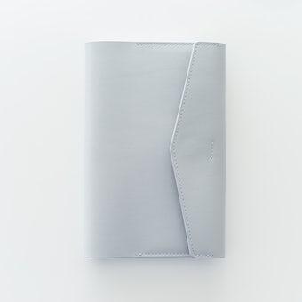 「クラシ手帳」にぴったりな本革カバー / グレーの商品写真