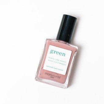 【在庫限り取り扱い終了】manucurist green / ネイルカラー(ピンクサテン)の商品写真