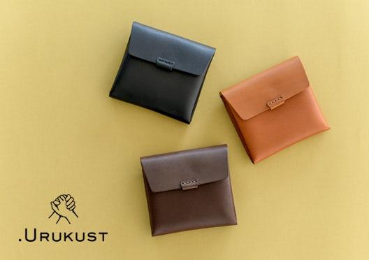 .URUKUST / ウルクスト / しかくの革財布の画像