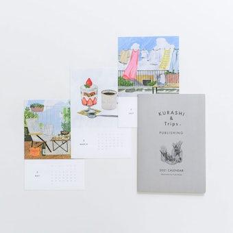 【数量限定】壁かけカレンダー2021「Home sweet home」の商品写真