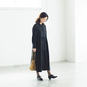 【今季終了】自分を甘やかす日のワンピース / ブラックの商品写真
