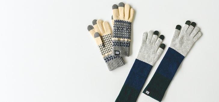スマホ対応の手袋が今年も再入荷