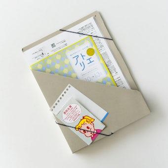 「プリント迷子はこれで解決」仕分け上手な収納ケース / スリム / ブルーの商品写真
