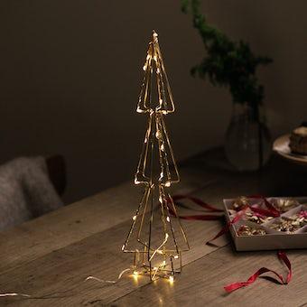 【今季終了】LEDライトのワイヤーツリー(エッジ)の商品写真