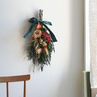 【今季終了】「クリスマスも、わたし好みに」冬のスワッグキット / SOCUKA×KURASHI&Trips PUBLISHINGの商品写真