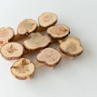 ヘムスロイド/SKANDINAVISK HEMSLOJD/木製ポットマットの商品写真