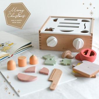 【クリスマス限定ギフトバッグ】リトルシェフ / おもちゃ / douの商品写真